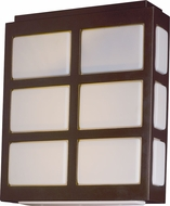 Maxim 53592WTMB Packs Modern Metallic Bronze LED Exterior Light Sconce
