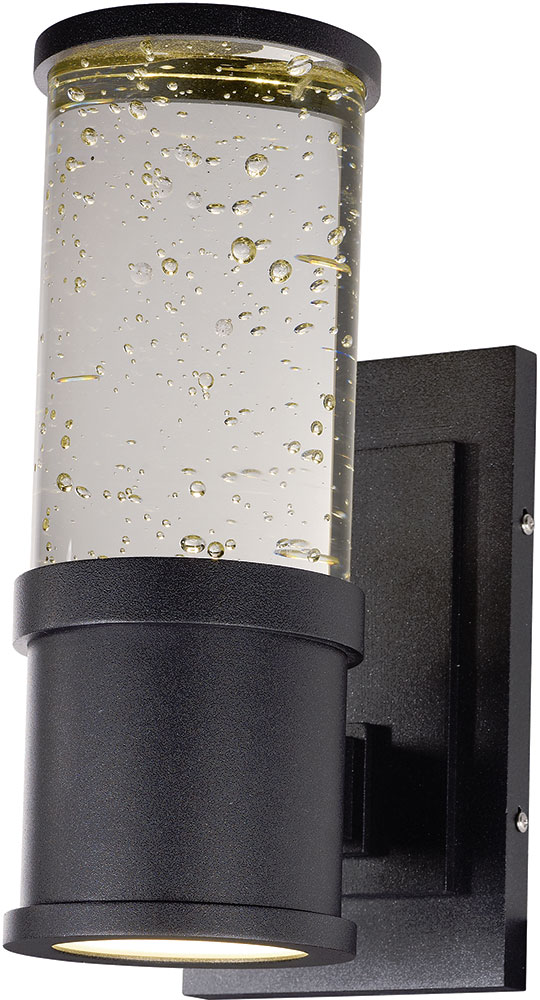 led outdoor wall lights white maxim 53685clgbk pillar modern galaxy black led outdoor wall light sconce loading zoom