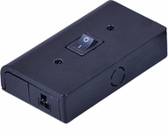 Maxim 53838BK CounterMax MX-LD-AC Modern Black Junction Box