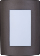 Maxim 54332WTBZ View LED Contemporary Bronze LED Outdoor Lamp Sconce