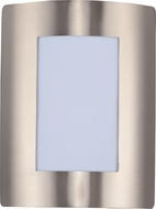 Maxim 54332WTSST View LED Modern Stainless Steel LED Exterior Wall Sconce Lighting
