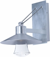 Maxim 54360CLAL Civic Contemporary Brushed Aluminum Outdoor 8  Sconce Lighting