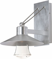 Maxim 54362CLAL Civic Contemporary Brushed Aluminum Exterior 10  Wall Lighting