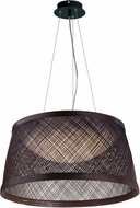 Maxim 54374CH Bahama Modern Chocolate LED 20  Drop Ceiling Lighting