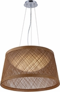Maxim 54376NA Bahama Modern Natural LED 24  Drop Lighting Fixture