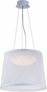 Maxim 54378WT Bahama Contemporary White LED 24  Lighting Pendant