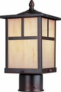 Maxim 55055HOBU Coldwater LED Craftsman Burnished Outdoor Post Lighting Fixture
