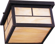 Maxim 55059HOBU Coldwater LED Craftsman Burnished Exterior Ceiling Light Fixture