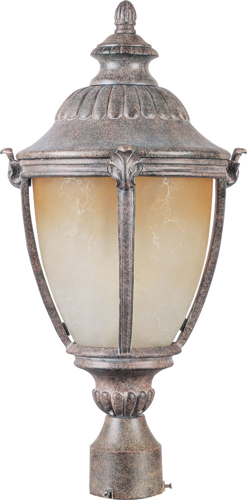 Maxim 55181ltet Morrow Bay Led Traditional Earth Tone Outdoor Lamp Post Light Fixture Loading Zoom