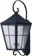 Maxim 55331CDFTBK Revere Black Outdoor Wall Sconce