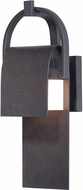 Maxim 55593RF Laredo Contemporary Rustic Forge LED Outdoor 14.5  Sconce Lighting