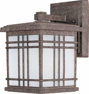 Maxim 55692FSET Sienna LED Craftsman Earth Tone Outdoor Wall Sconce Lighting