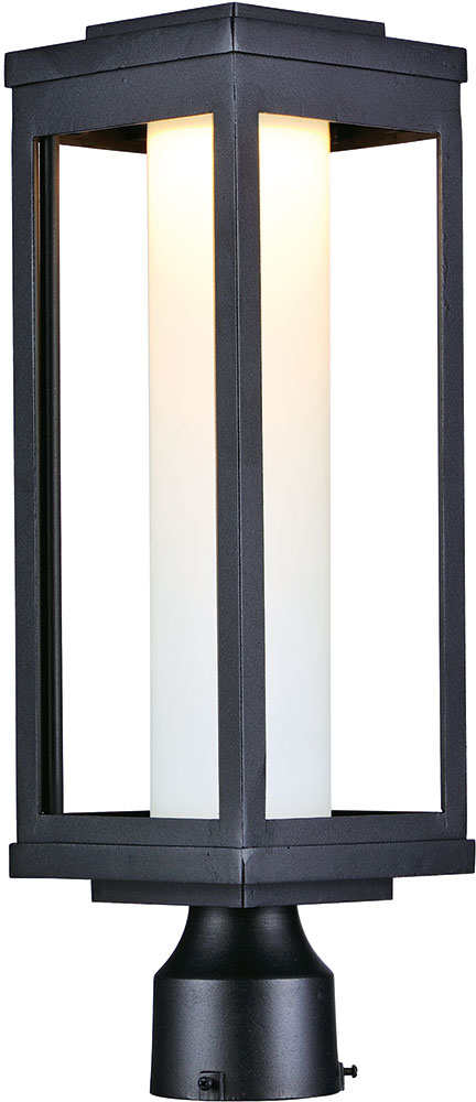 Maxim 55900swbk Salon Led Modern Black Outdoor Post Light Fixture Loading Zoom
