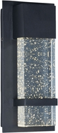Maxim 55912BGBK Cascade Contemporary Black LED Exterior Lamp Sconce