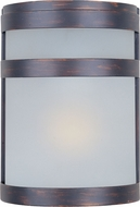 Maxim 56005FTOI Arc LED Oil Rubbed Bronze Exterior Wall Lighting Sconce