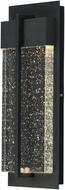 Maxim 56193BGBK Cascade Contemporary Black LED Exterior 16  Lighting Sconce