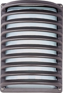 Maxim 56222WTABZ Zenith Contemporary Architectural Bronze LED Outdoor Wall Light Sconce