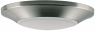 Maxim 57622WTSN Diverse Contemporary Satin Nickel LED Interior / Exterior 6  Overhead Light Fixture