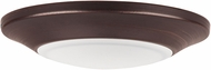 Maxim 57624WTBZ Diverse Modern Bronze LED Indoor / Outdoor 6  Overhead Lighting Fixture