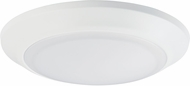 Maxim 57637WTWT-12 Diverse Contemporary White LED Interior / Exterior 7.5  Flush Mount Light Fixture (Pack of 12)