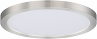 Maxim 57694WTSN Chip Satin Nickel LED 9  Ceiling Light Fixture