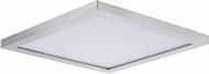 Maxim 57699WTSN Chip Satin Nickel LED 9  Ceiling Lighting Fixture