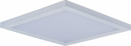 Maxim 57724WTWT Wafer LED Modern White LED Outdoor Flush Ceiling Light Fixture