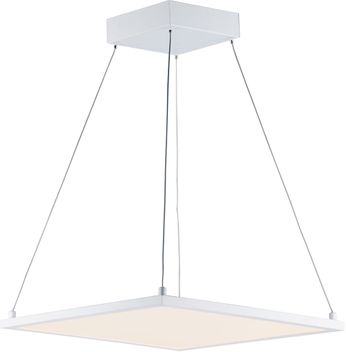 Maxim 57838WTWT Wafer Contemporary White LED Drop Lighting