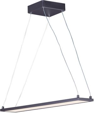 Maxim 57842WTBZ Wafer Modern Bronze LED 24  Island Lighting
