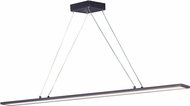 Maxim 57846WTBZ Wafer Modern Bronze LED 48  Kitchen Island Light