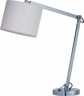 Maxim 60138WAPC Hotel Contemporary Polished Chrome LED Table Lamp