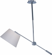 Maxim 60143WAPC Hotel Modern Polished Chrome LED Swing-Arm Hanging Light Fixture