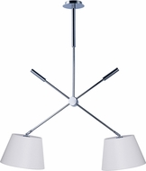 Maxim 60144WAPC Hotel Contemporary Polished Chrome LED Drop Lighting