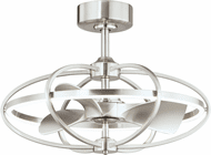 Maxim 61002SN Corona Fan Modern Satin Nickel LED Home Ceiling Fan