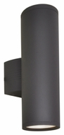 Maxim 6102ABZ Lightray Contemporary Architectural Bronze Finish 15.75 Tall Outdoor Wall Sconce Lighting