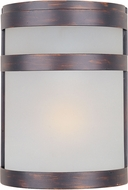 Maxim 65000FTOI Arc Modern Oil Rubbed Bronze LED Exterior 9  Wall Sconce Lighting