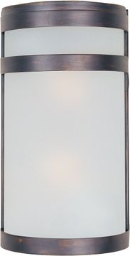 Maxim 65002FTOI Arc Modern Oil Rubbed Bronze LED Exterior 12 Lighting Wall Sconce