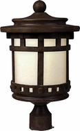 Maxim 65036MOSE Santa Barbara LED E26 Sienna LED Outdoor Post Light