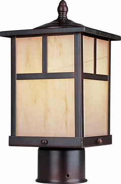Maxim 65055HOBU Coldwater LED E26 Craftsman Burnished LED Outdoor Lighting Post Light
