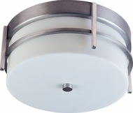 Maxim 65217WTBM Luna LED E26 Modern Brushed Metal LED Outdoor Ceiling Lighting Fixture