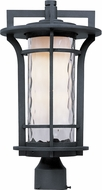 Maxim 65780WGBO Oakville LED E26 Contemporary Black Oxide LED Exterior Post Lighting Fixture