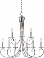 Maxim 70006PN Loft Polished Nickel Lighting Chandelier
