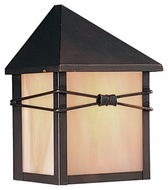 Maxim 8041IRBU Taliesin Burnished 5  Wide Exterior Lamp Sconce