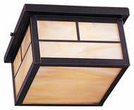 Maxim 85059HOBU Coldwater EE Craftsman Burnished 5  Tall Outdoor Flush Lighting