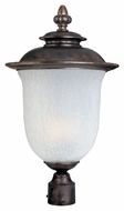 Maxim 85191FCCH Cambria EE Traditional Chocolate 22  Tall Outdoor Pole Lighting Fixture