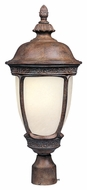 Maxim 85460SFSE Knob Hill EE Traditional Sienna 10  Wide Exterior Lighting Post Light