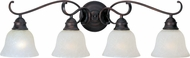 Maxim 85810ICOI Linda EE Oil Rubbed Bronze 4-Light Vanity Light