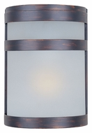Maxim 86005FTOI Arc EE 9 Inch Tall Oil Rubbed Bronze Outdoor Wall Lighting - Fluorescent