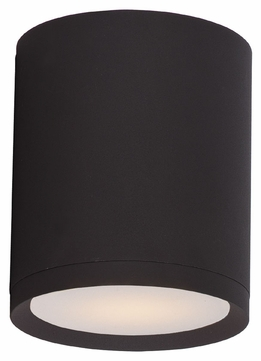 Maxim 86104ABZ Lightray LED Contemporary Architectural Bronze Finish 6.25 Tall Outdoor Flush Ceiling Light Fixture