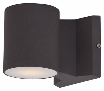Maxim 86106ABZ Lightray LED Contemporary Architectural Bronze Finish 4 Tall Outdoor Wall Sconce Light